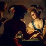 Chiaroscuro= Gerrit van Honthorst